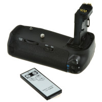 Jupio Battery Grip for Canon EOS 70D/80D [JBG-C011]